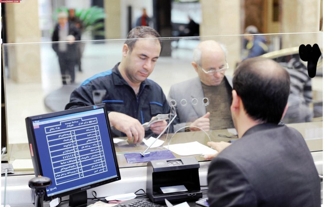 شعب بانکی در مناطق قرمز با نیمی از کارکنان فعالیت میکنند