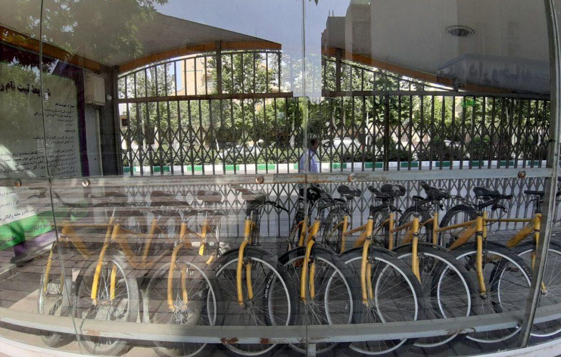 تمامی ایستگاههای قدیمی دوچرخه شهری مشهد جمعآوری میشود