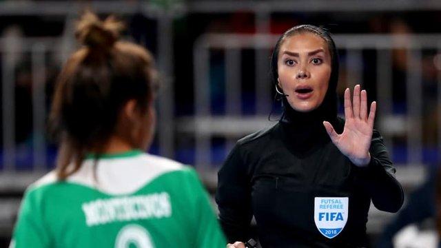 دو داور زن ایرانی در راه قضاوت جام جهانی