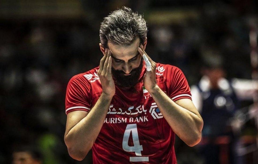 سعید معروف مغز متفکر تیم والیبال ایران
