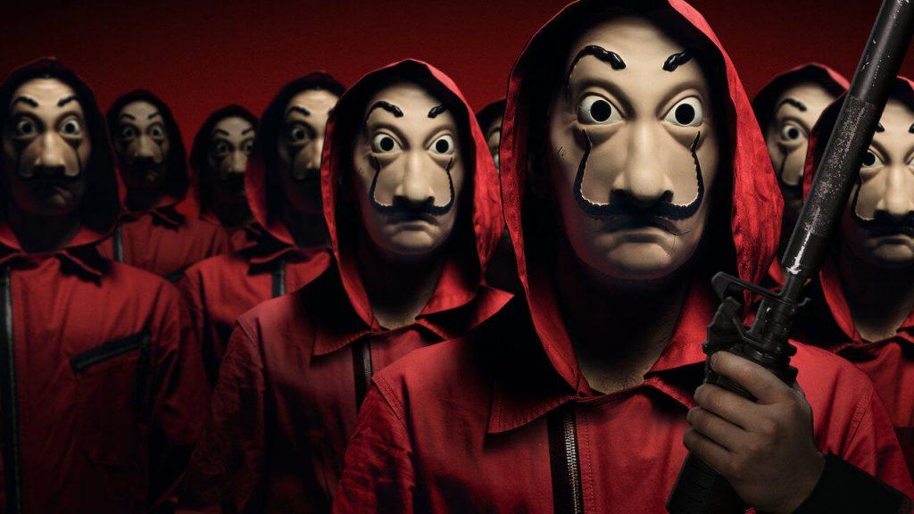30 نکته جالب درباره فصل 1 تا 4 سریال La Casa de Papel/ از نماد پنهان در ماسک های سالواتور دالی تا دلیل نامگذاری شخصیت های سریال و صحنه های دشوار فیلمبرداری