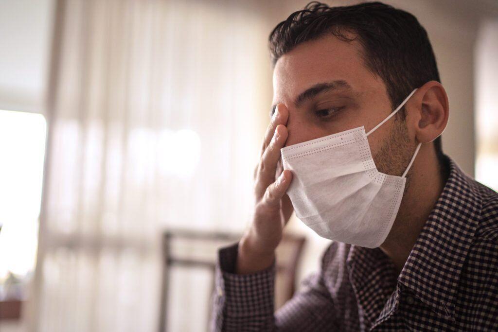 ماسک برای سلامت چشم مضر است؟
