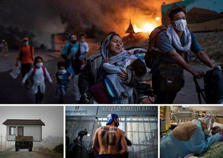 عکسهای برتر ۲۰۲۰ به روایت آسوشیتدپرس