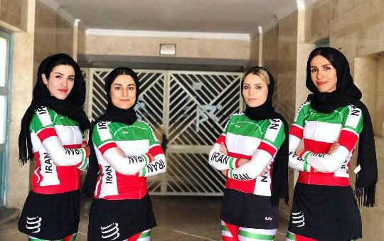 عراق اسپانسر تیم ملی دوچرخهسواری زنان ایران شد!