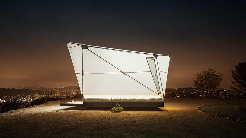 یک هتل لوکس قابل حمل برای عاشقان طبیعت گردی