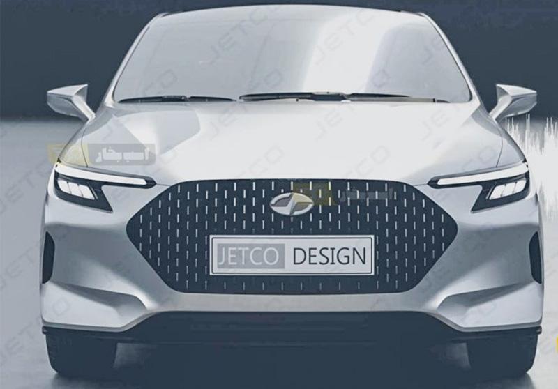 سمند جدید اولین خودروی الکتریکی ایران + تصاویر