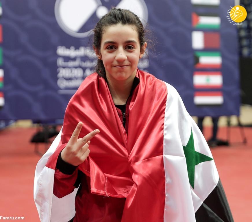 هند ظاظا جوانترین ورزشکار المپیک توکیو؛ یک دختر ۱۲ساله سوری است